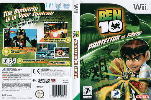 Ben 10: Protector of Earth Wii cover (RBNPG9)