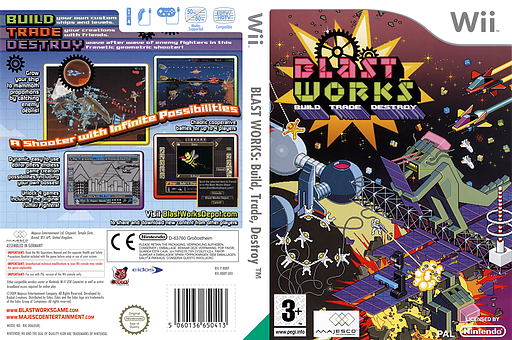 Blast Works: Build, Trade, Destroy Wii cover (RBRP5G)