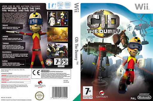 CID: The Dummy Wii cover (RC9PGN)