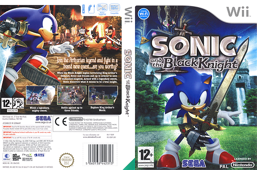 Sonic and the Black Knight Wii cover (RENP8P)
