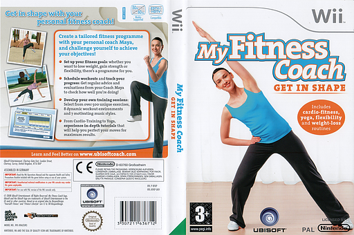 My Fitness Coach: Get In Shape Wii cover (RFKP41)