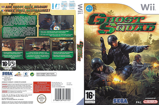 Ghost Squad Wii cover (RGSP8P)