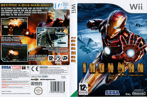 Iron Man Wii cover (RIRP8P)