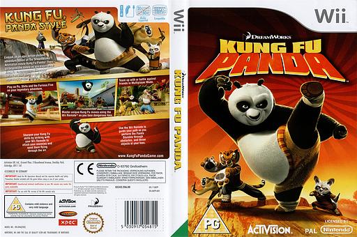 Kung Fu Panda Wii cover (RKPP52)