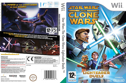 Star wars the clone wars lightsaber duels wii cover rlfp64
