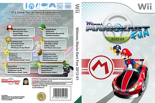 Wiimms MKW Fun 2012-01.pal CUSTOM cover (RMCP13)