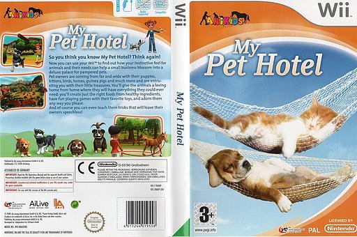 My Pet Hotel Wii cover (RMNPFR)