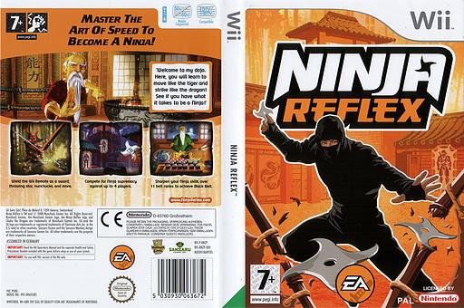 Ninja Reflex Wii cover (RNZP69)