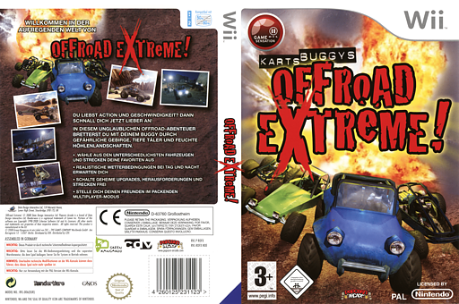 Offroad Extreme! Wii cover (ROFXUG)