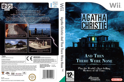 Agatha Christie: And Then There Were None Wii cover (RQTP6V)