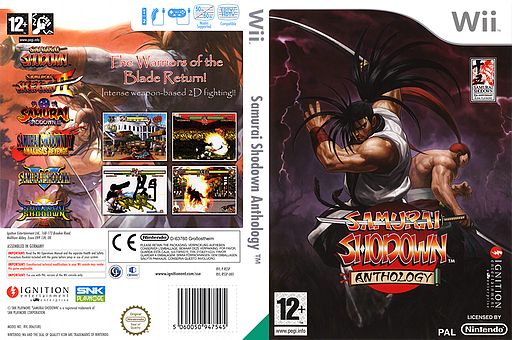 Samurai Shodown Anthology Wii cover (RSSP7U)
