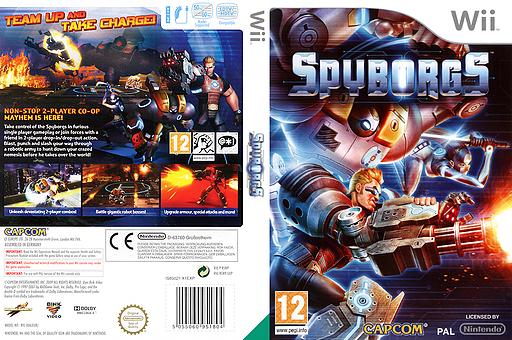 Spyborgs Wii cover (RSWP08)