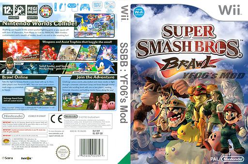 Super Smash Bros. Brawl:YF06's Mod CUSTOM cover (RSYP06)