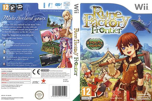 Rune Factory: Frontier Wii cover (RUFP99)