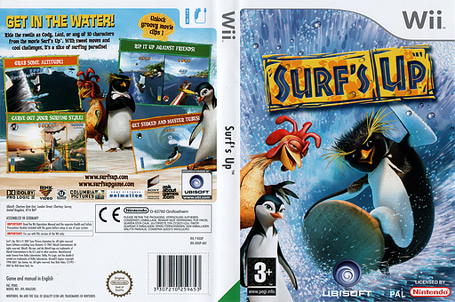 Surf's Up Wii cover (RXUP41)