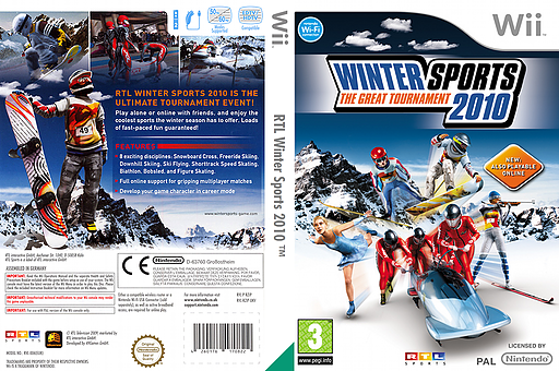 Winter Sports 2010: The Great Tournament Wii cover (RZIPRT)