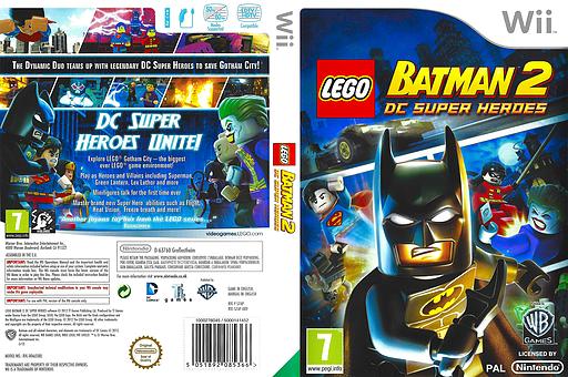 LEGO Batman 2: DC Super Heroes Wii cover (S7APWR)