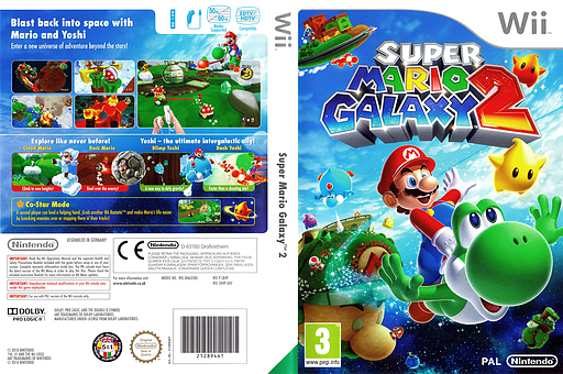 [WII] Super Mario Galaxy 2 PAL - ITA