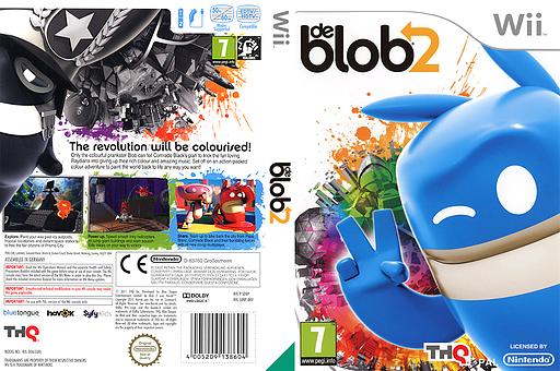 de Blob 2 Wii cover (SDBP78)