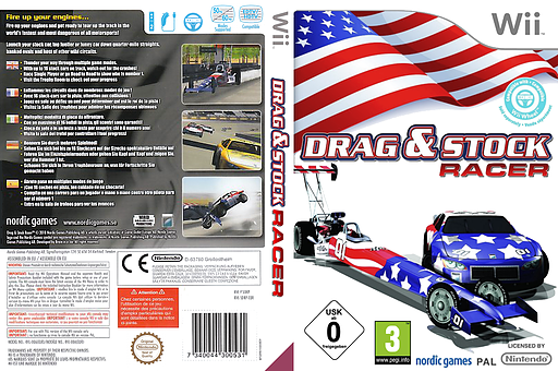 Drag & Stock Racer Wii cover (SDRPNG)