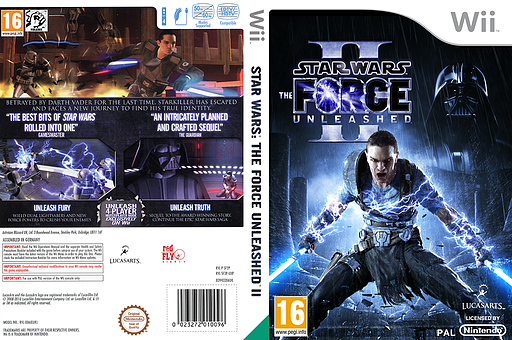 Star Wars: The Force Unleashed II Wii cover (SF2P64)