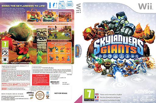 Skylanders: Giants Wii cover (SKYP52)