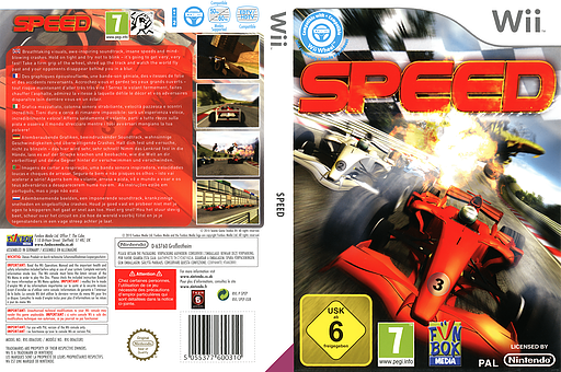 Speed Wii cover (SPEPXT)