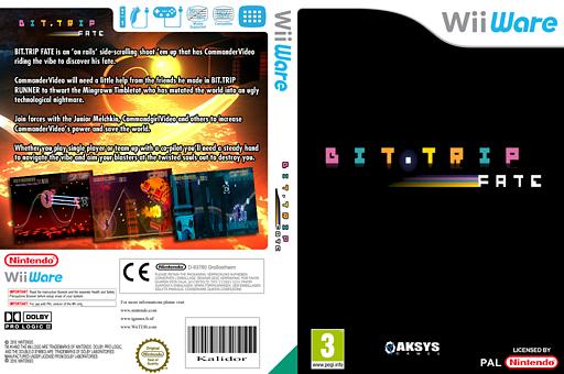 Bit.Trip Fate WiiWare cover (WBFP)