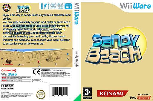 Sandy Beach WiiWare cover (WFBP)