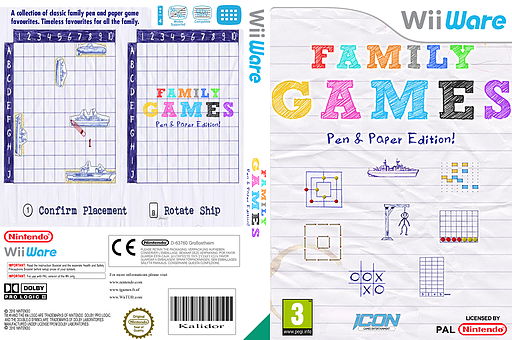 Family Games  Pen & Paper Edition WiiWare cover (WFYP)