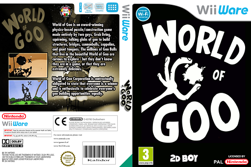 World of Goo WiiWare cover (WGOP)