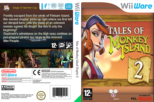 Tales of Monkey Island Chapter 2: The Siege of Spinner Cay WiiWare cover (WISP)