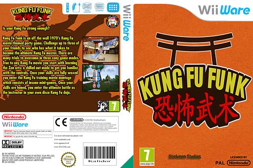 Kung Fu Funk: Everybody Is Kung Fu Fighting WiiWare cover (WKFP)