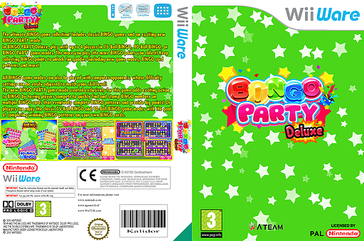 Bingo Party Deluxe WiiWare cover (WLCP)