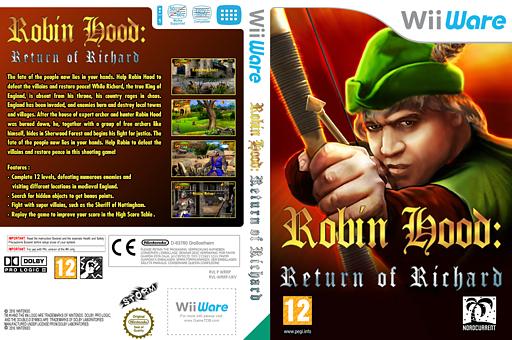 Robin Hood: The Return Of Richard WiiWare cover (WRRP)