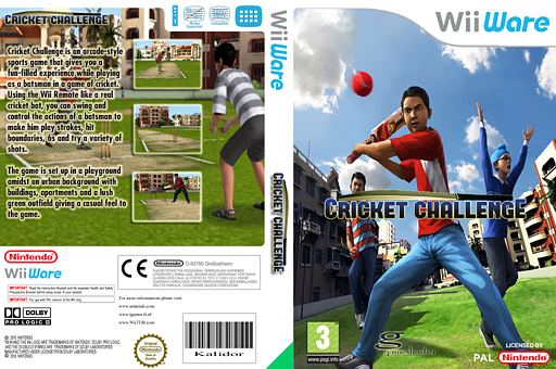 Cricket Challenge WiiWare cover (WZBP)
