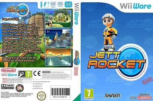 Jett Rocket (Demo) WiiWare cover (XHLP)