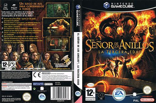 El Señor de los Anillos: La Tercera Edad GameCube cover (G3AS69)
