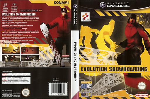 Evolution Snowboarding GameCube cover (GEBPA4)