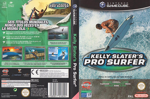 Kelly Slater's Pro Surfer GameCube cover (GKSP52)