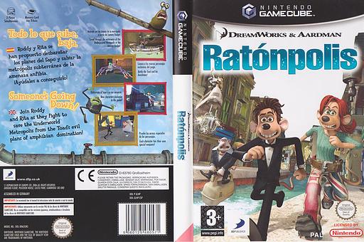 Ratónpolis GameCube cover (GLHPG9)