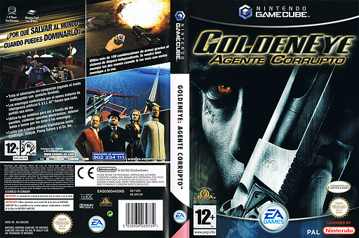 goldeneye rogue agent gamecube iso download