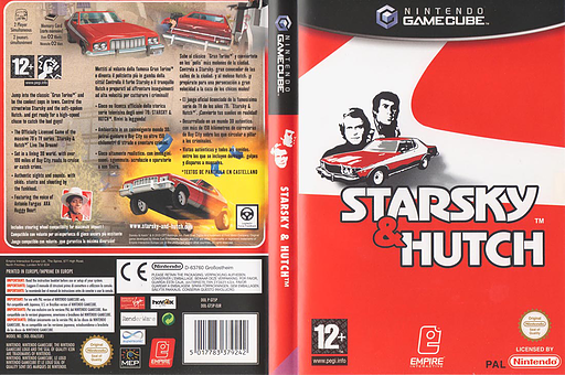 Starsky & Hutch GameCube cover (GT5P7N)