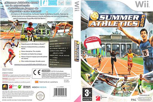 Summer Athletics 2009 Wii cover (R9MPFR)