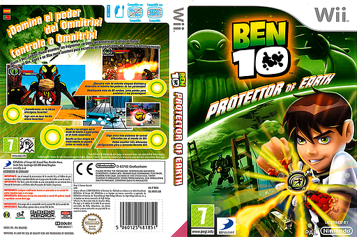Ben 10: Protector of Earth Wii cover (RBNXG9)