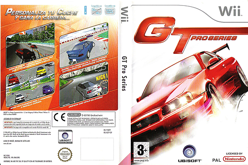 GT Pro Series Wii cover (RGTP41)