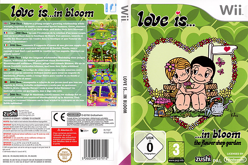 Love is... in Bloom Wii cover (RLCP7J)