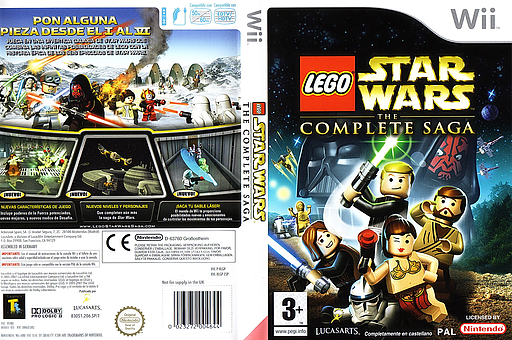 LEGO Star Wars: The Complete Saga Wii cover (RLGP64)