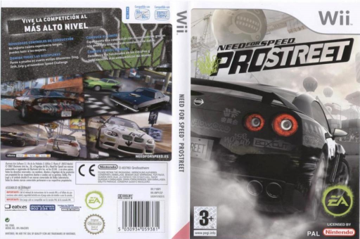 Need for Speed: ProStreet Wii cover (RNPP69)