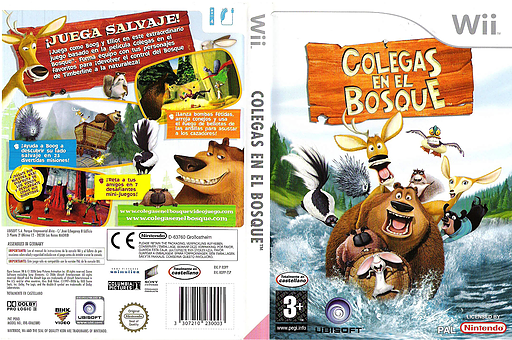 Colegas en el Bosque Wii cover (ROPP41)